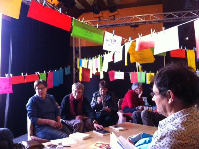 café littéraire avec Jocelyne du Théâtre du Brianconnais
