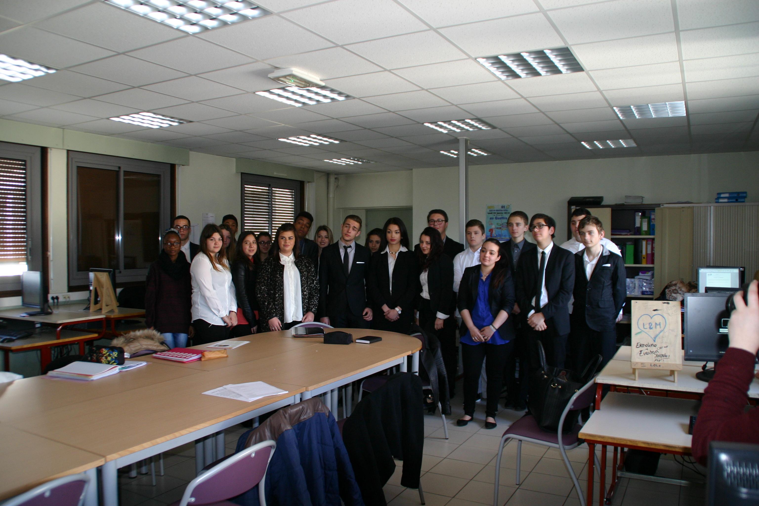 Opération porte ouverte le 12 mars 2016 au lycée des Métiers Sévigné.