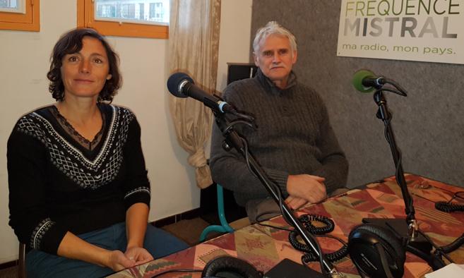 Laure Franek et Jean-Christophe Labadie