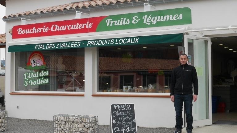 « L'étal des 3 vallées » privilégie les produits locaux
