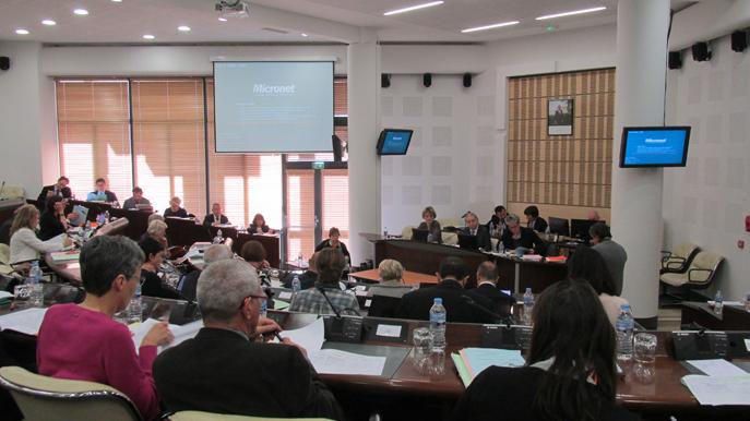 Les Conseillers départementaux du 04 étaient réunis vendredi