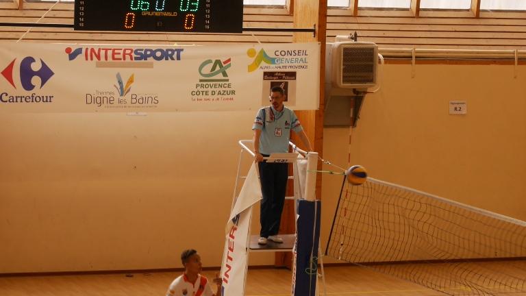 Volley-ball : l'EPDM s'incline face à Orange