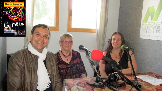 Didier Jaoul, Monique Lefèvre et Sandrine Estève
