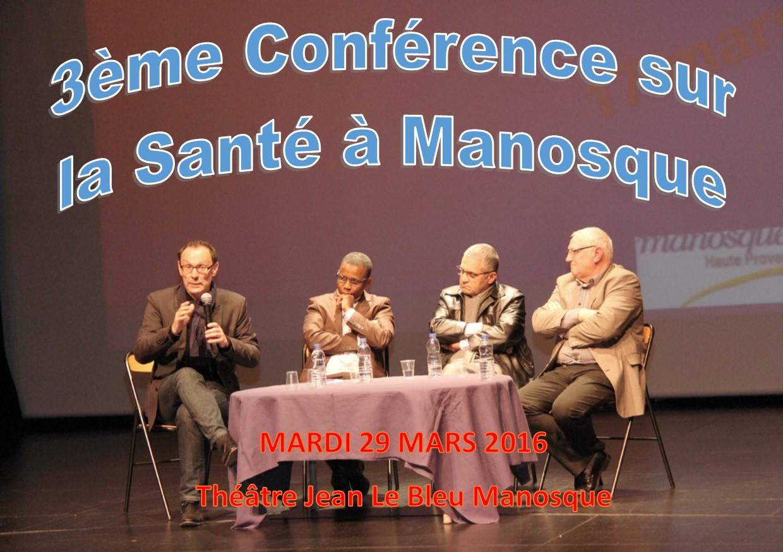 Une conférence sur la santé ce soir à Manosque