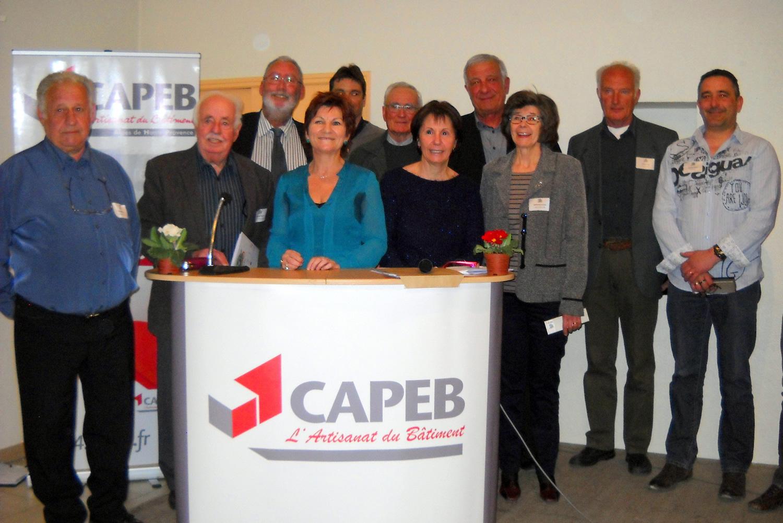 La CAPEB 04 a fêté ses 70 ans à Mane !
