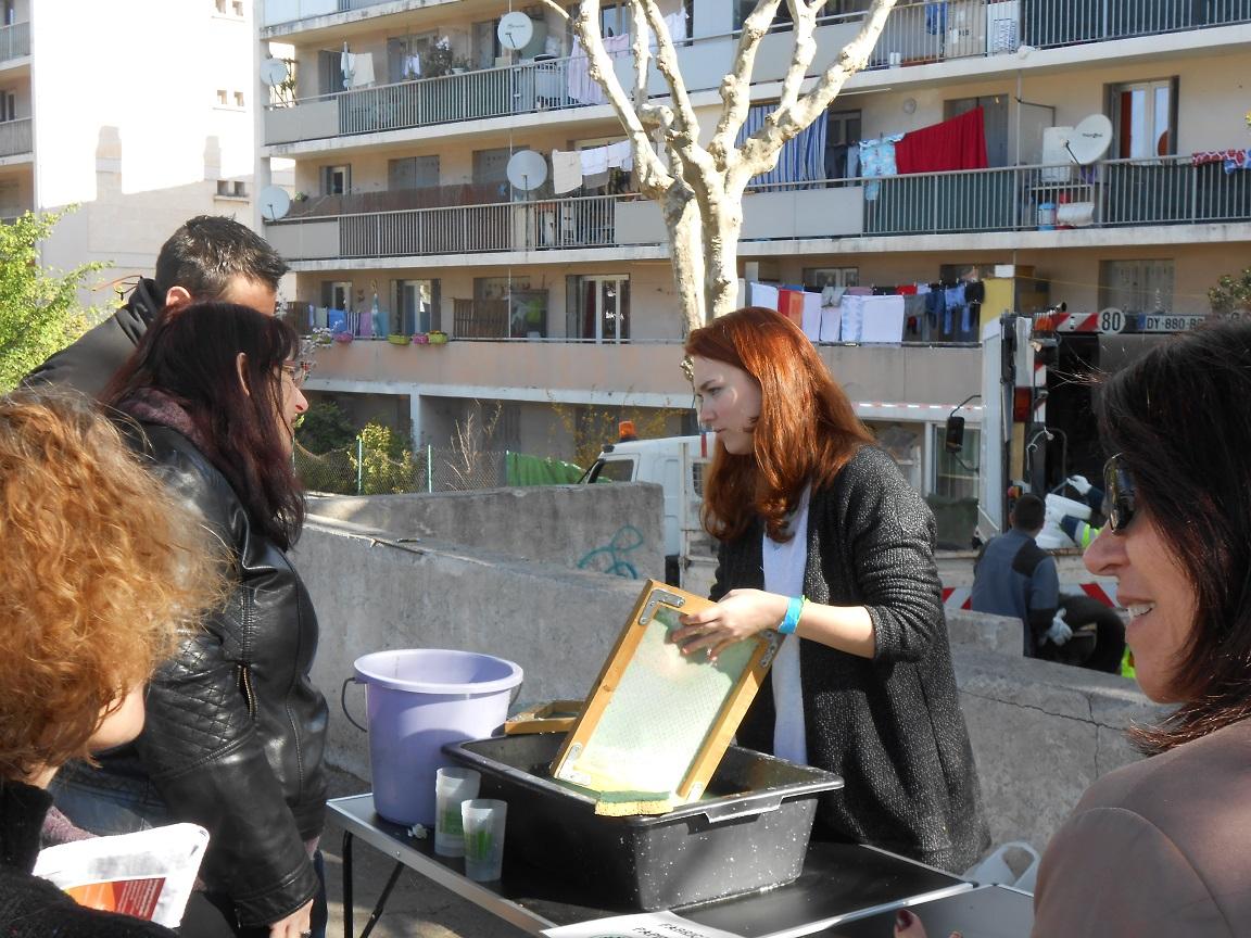 Journée de sensibilisation sur la gestion des déchets.