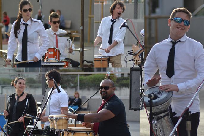 Un concert percussions électro-acoustique a enthousiasmé le public dignois.