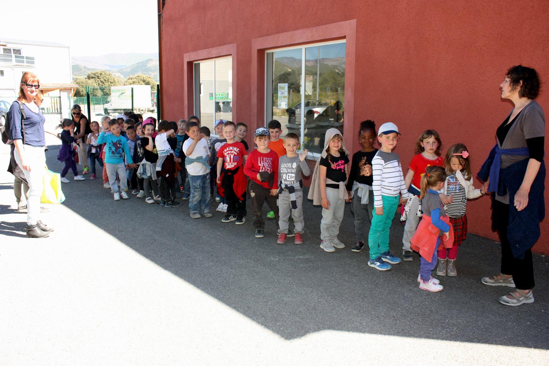 La pépinière col vert s'ouvre aux scolaires !