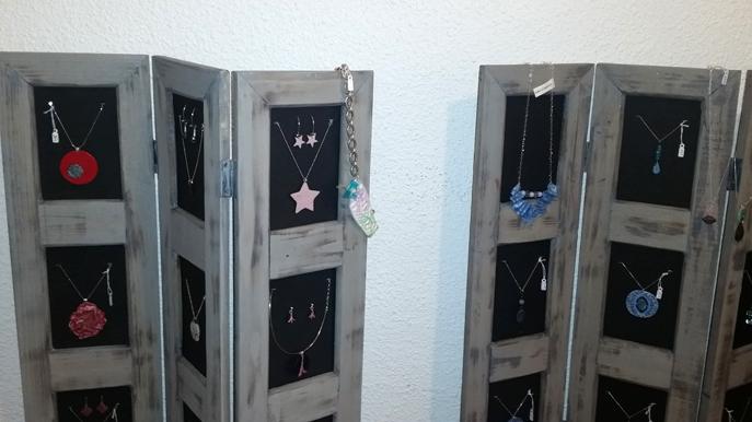 Quelques bijoux créés par Laurence PIOT