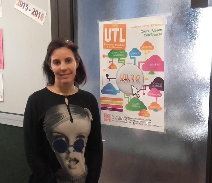 Mireille Sicard, secrétaire générale de l'UTL