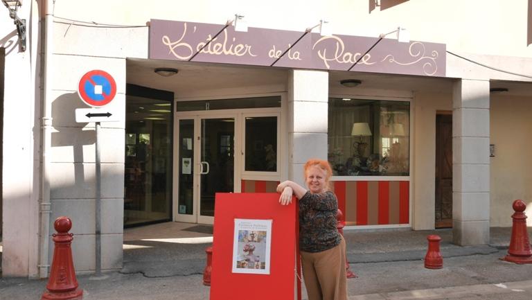 Un atelier-galerie d'art victime du stationnement difficile à Digne.