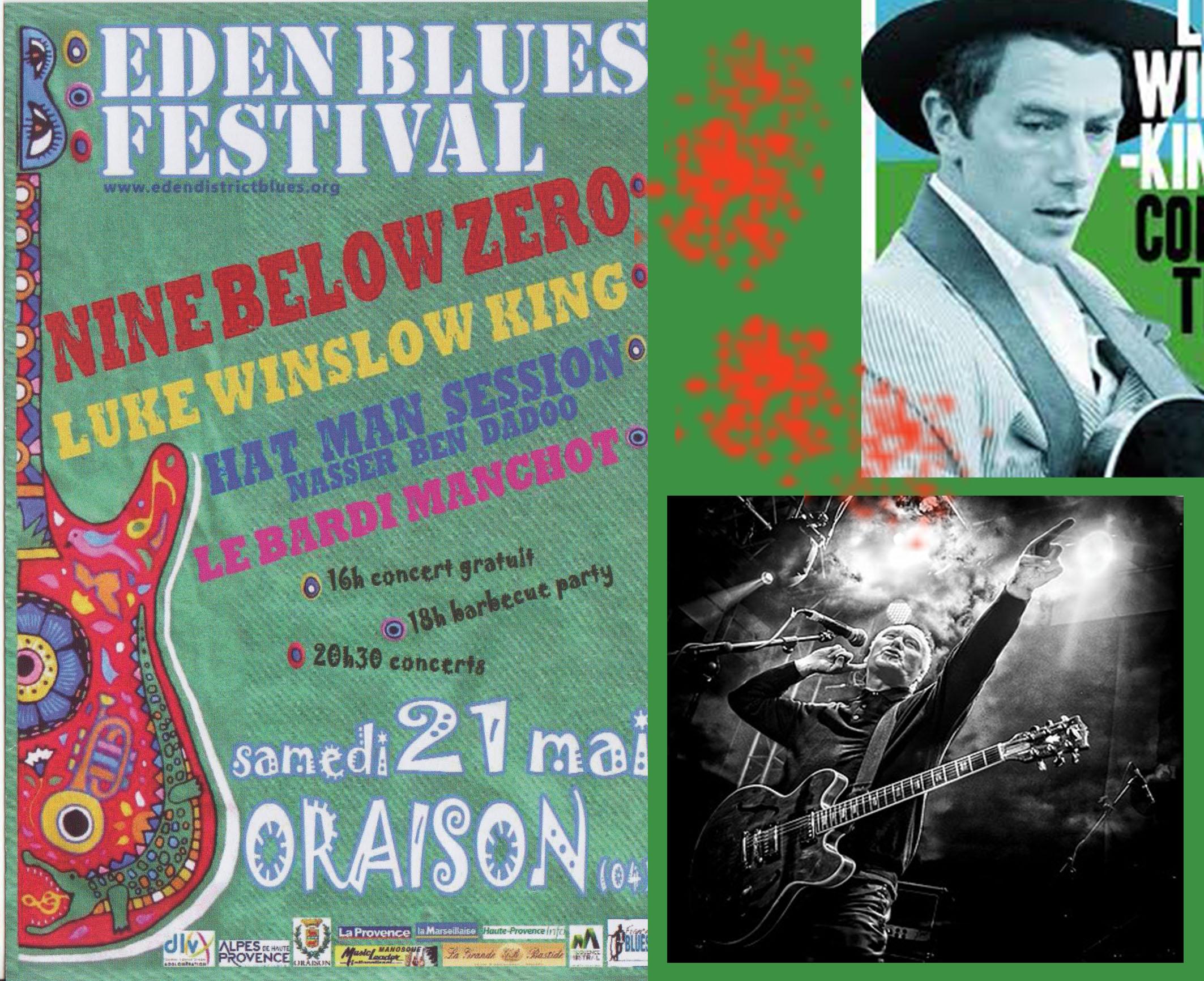 Eden Blues Festival c'est samedi !