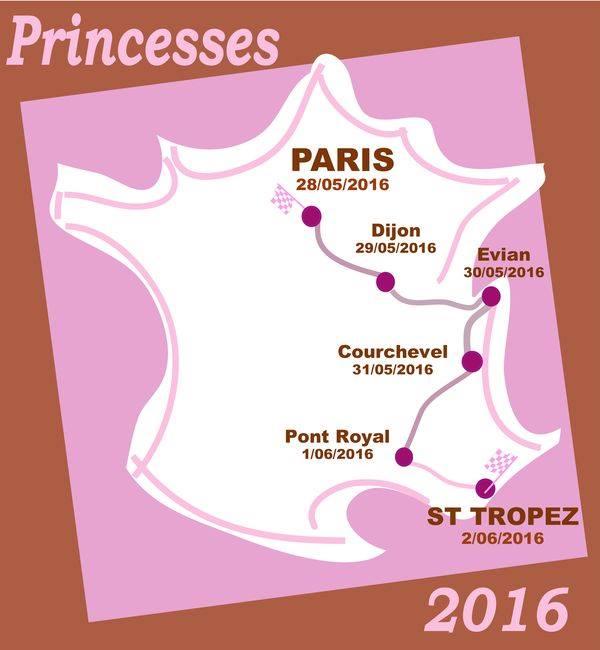 Le rallye des Princesses est passé par Gap