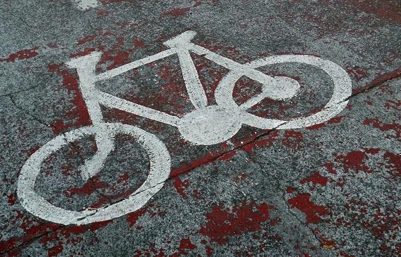 A Manosque, les vélos ont des parcs de stationnement