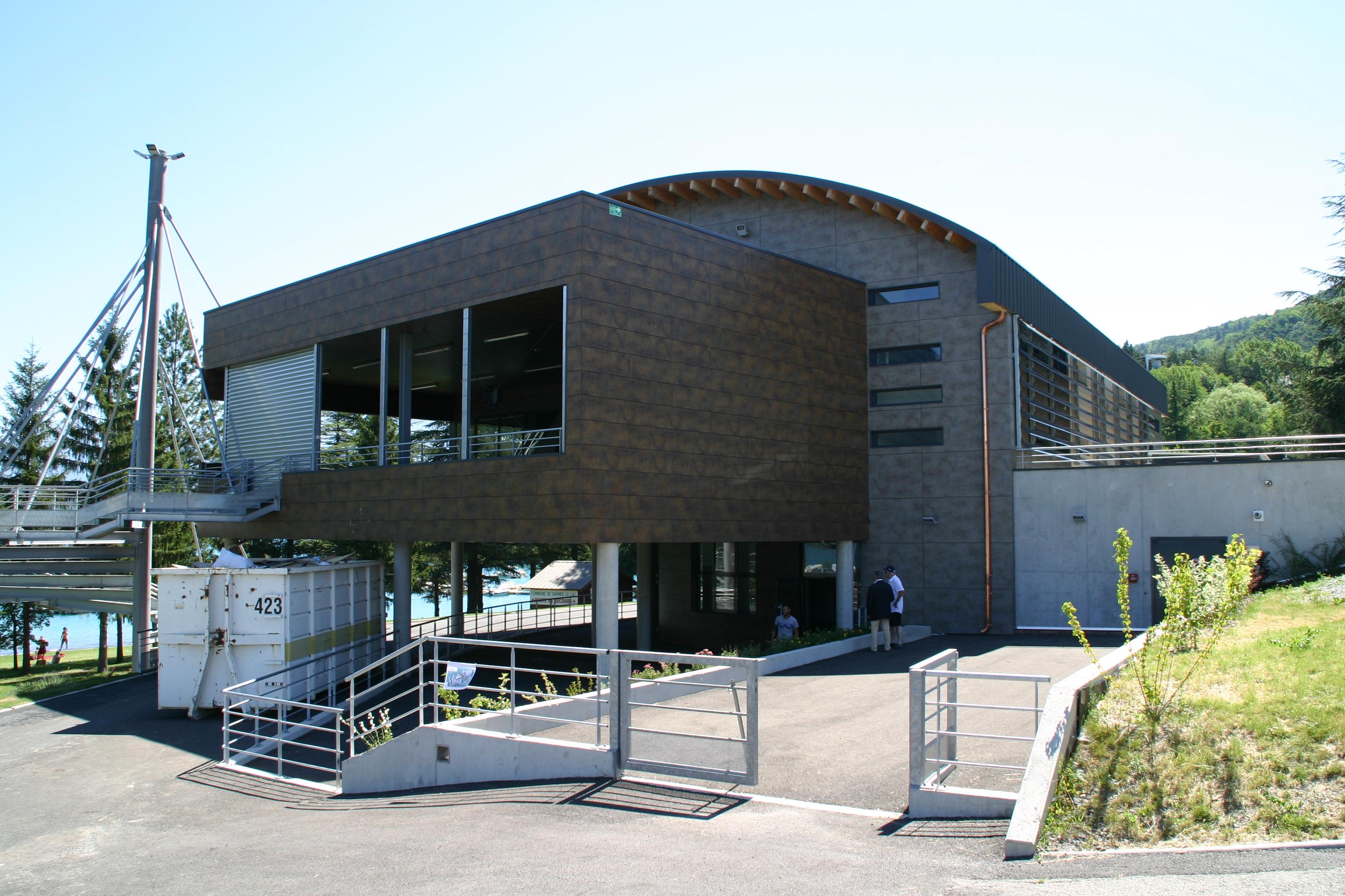 La salle du 20ème siècle sera inaugurée le 14 juillet à Savines le Lac