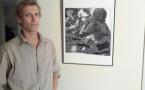 Marc Bouygard expose ses gravures dans nos studios !