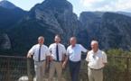 Gorges du Verdon: visite préfectorale et campagne de prévention