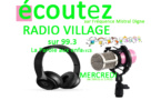 Notre antenne dignoise ouvre « Radio village »…