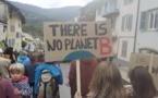 Une marche pour le climat dimanche dernier à Guillestre