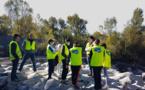 BTP 04 : des collégiens dignois en visite sur un chantier