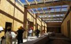 Visite de chantier sur l'Eco-Campus de Sainte-Tulle