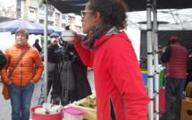 Une Disco Soupe au marché de Briançon