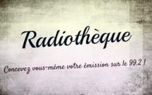 Radiothèque mardi 4 avril