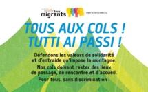 Les cols favorisent les passages entre France et Italie