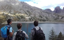 Au lac d'Allos, les visiteurs ont été sensibilisés aux dangers de la montagne