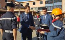 Un ministre présent pour la passation de commandement au centre de secours de Digne !