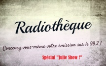 "radiothèque: mardi 5 septembre spécial ""Julie Show"" !"