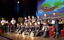 Mise à l'honneur des sapeurs-pompiers du 04