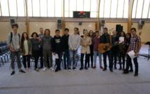 Des lycéens auteurs, compositeurs, interprètes le temps d'un concert