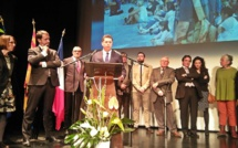 Première cérémonie des vœux pour Gérard Avril