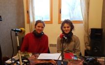 Lia et Clémence étaient en stage dans nos studios dignois…