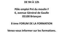 Pôle Emploi Briançon prépare une rencontre de la formation