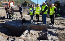 Des fouilles archéologiques avant un gymnase à Digne
