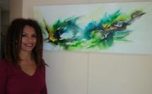 Rosario D'Espinay-Saint-Luc ouvre les portes de son atelier