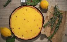 Tarte aux citrons de Nice et safran de Riez