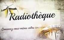RADIOTHEQUE : la première de l'année !