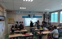 Des écoliers gapençais planchent sur le numérique…