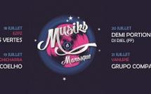 Muziks à Manosque 20-21 juillet