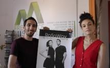 Le duo RoSaWay a fait une halte dans notre studio à Digne