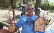Pour Yvon, la sculpture sur bois est tout un art !