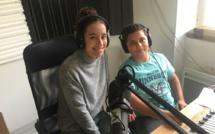 Chiara et Bilel sont en stage dans notre radio
