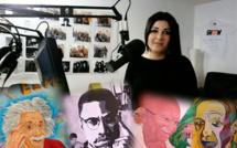 Des portraits forts en peinture à Sisteron !