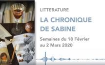 La Chronique de Sabine du 29 Février 2020