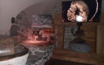 Une animation émouvante dans un ancien moulin à huile de noix : le moulin de Célestin !