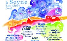 A Seyne les alpes 13ème édition de Musique dans la vallée