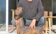Portrait d'un sculpteur- illustrateur